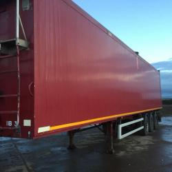 Weightlifter Walking floor trailer
