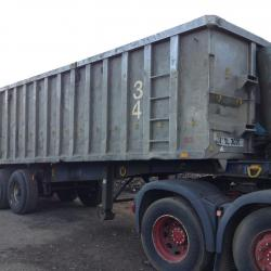 Alloy Tipping Trailer Trailer